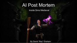 Inside DARKSPORE and THE SIMS: MEDIEVAL by