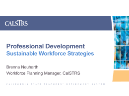 2014 ASTD Roadshow CalSTRS Professional Development