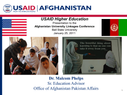 USAID Higher Education - Ball State University
