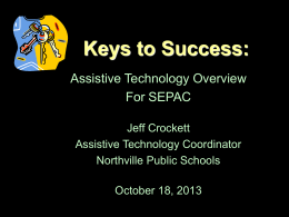 AT overview SEPAC Oct 18 2013