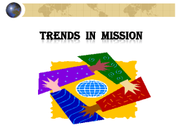 Trends in Mission – SA