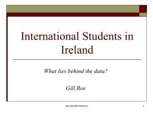 International Students in Ireland