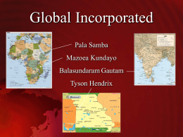 Global Incorporated - Missouri State University
