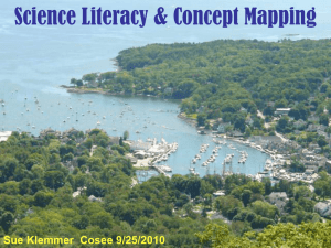 Science Literacy & Concept Mapping