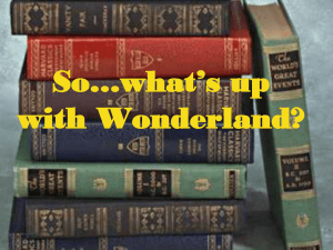 Lewis Carroll`s Alice In Wonderland