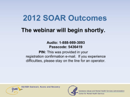 PowerPoint Slides - SOAR Works!