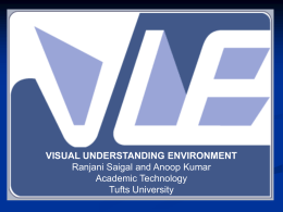 Visual Understanding Environment