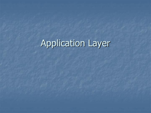 Application Layer