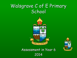 Walsgrave C of E Primary School - Walsgrave Church of England