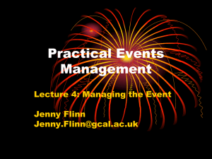 Practical Events Management
