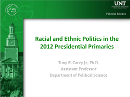 Political Science PowerPoint Template