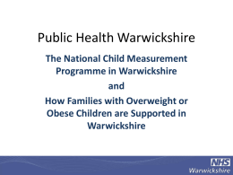 How Families with Oweight Obese Children are Suppored in