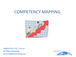 COMPETENCY MAPPING - HR Globe Consulting