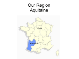Our Region Aquitaine