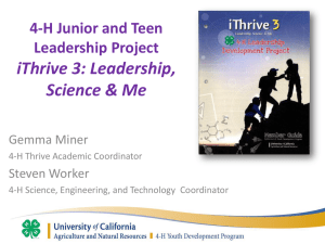 iThrive3 Curriculum workshop at 2014 NAE4-HA - 4