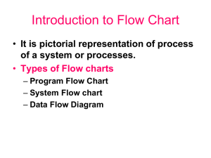 12. Introduction to Flow Chart