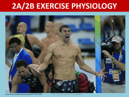 Exercise Physiology - PE Studies Revision Seminars