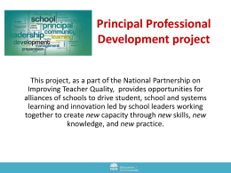 Information presentation to support Learning Alliances (PPT 2MB)