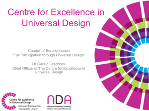 Ger Craddock 2  - Centre for Excellence in Universal Design