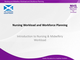 Introduction - NHS Education for Scotland