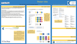 TDLC Poster Template - Temporal Dynamics of Learning Center