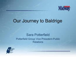 Slide 1 - America Needs Baldrige!