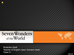 original 7 world wonders