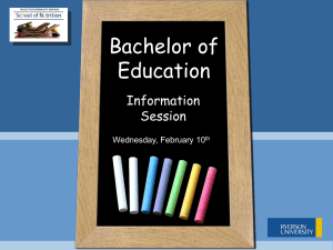 Chalkboard Template - Ryerson University