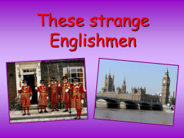 English traditions and customs