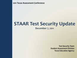 TAC2011-TestSecurityUpdate