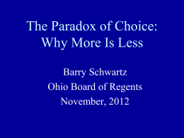 YES! - Ohio Board of Regents