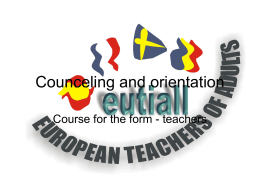 romanian counceling and orientation
