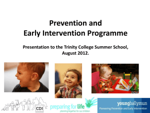 PowerPoint - Childhood Development Initiative