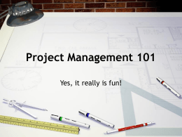 Project Management Presentation