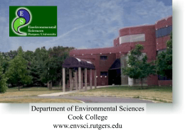 Open_House - Department of Environmental Sciences