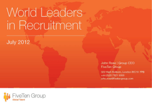 FiveTen Group - Recruitment International