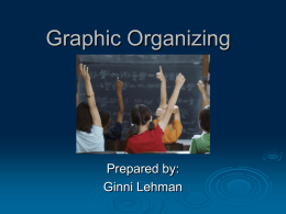 Graphic Organizing