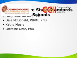 Common Core CACE Presentation
