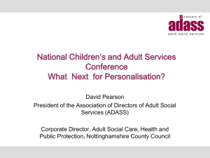 TP10 What Next for Personalisation David Pearson