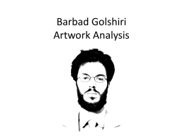 Barbad Golshiri Art Analysis