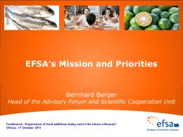 EFSA structure