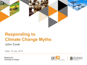 Responding to Climate Myths