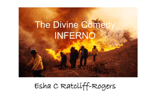 The Divine Comedy INFERNO
