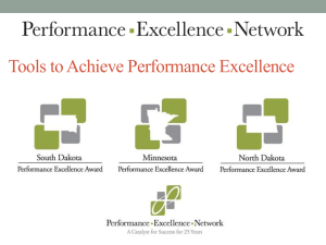2013-Presentation-Copp - Performance Excellence Network