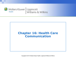 Chapter 16 PPT