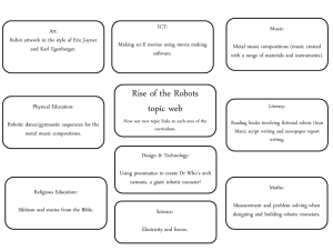 Victorians topic web How our new topic links to each area of the