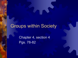 Sociology Chapter 4_ sect