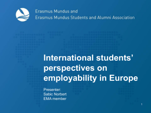 Feel free to use it - Erasmus Mundus Students and Alumni Association