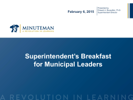 Minteuman PowerPoint for the Municipal Leaders