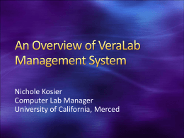 UCCSC veralab - University of California, Merced